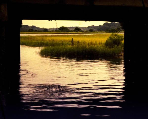 Marsh Landscape Poster featuring the photograph Shem Creek by Edward Shmunes