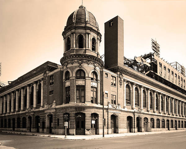 Shibe Park Poster featuring the photograph Shibe Park by Bill Cannon