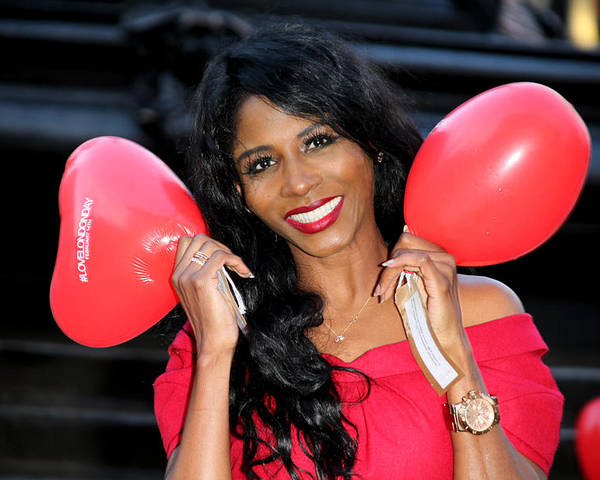 Jezcself Poster featuring the photograph Sinitta 7 by Jez C Self