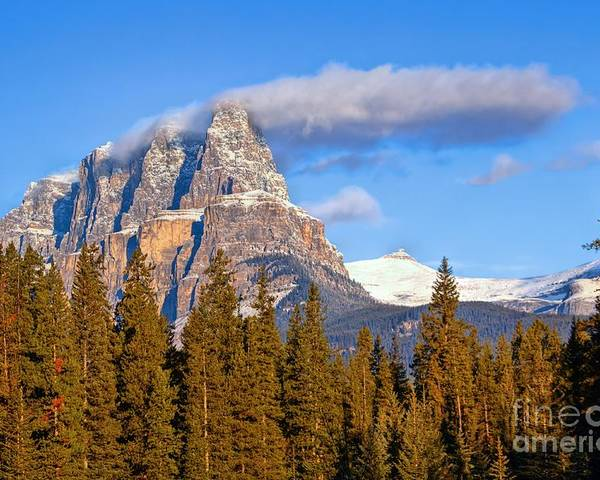 Banff National Park Poster featuring the photograph Smoke Stack by James Anderson