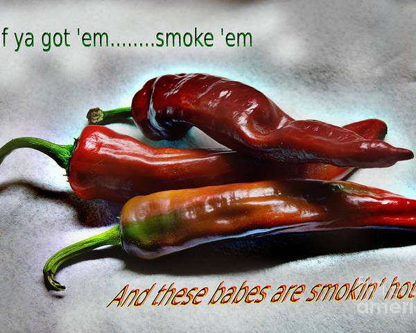 Hot Poster featuring the photograph Smokin' by The Stone Age