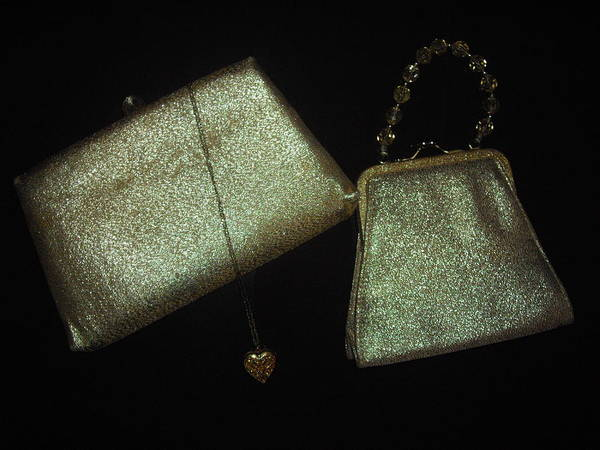 Handbags Poster featuring the painting Solid Gold by Robert Cunningham
