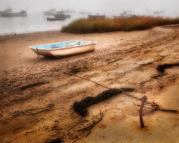 Cape Cod Poster featuring the photograph Someday My Ship Will Come In by Bill Wakeley