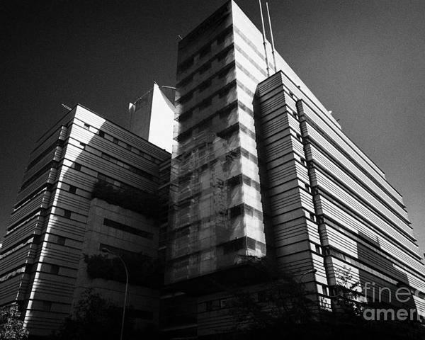 Sonda Poster featuring the photograph sonda it company headquarters Santiago Chile by Joe Fox