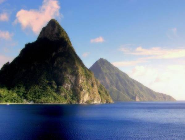 Piton Mountains Poster featuring the photograph Splendor by Karen Wiles
