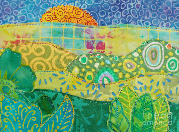 Sunrise Poster featuring the painting Spring Flourish by Susan Rienzo