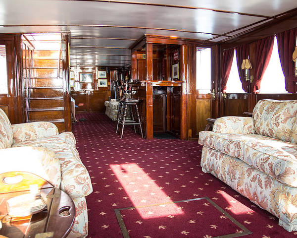 Boat Poster featuring the photograph Stateroom by Stan Ramsay