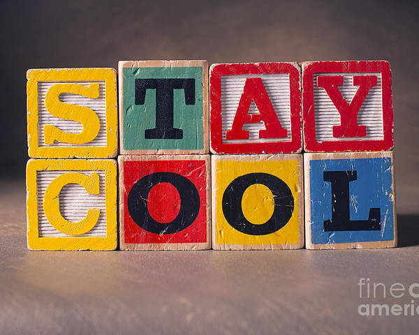 Stay Cool Poster featuring the photograph Stay Cool by Art Whitton