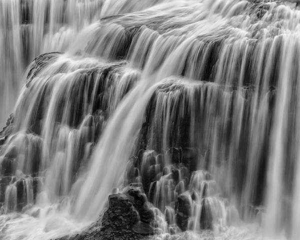 Horizontal Poster featuring the photograph Strong Waters by Jon Glaser