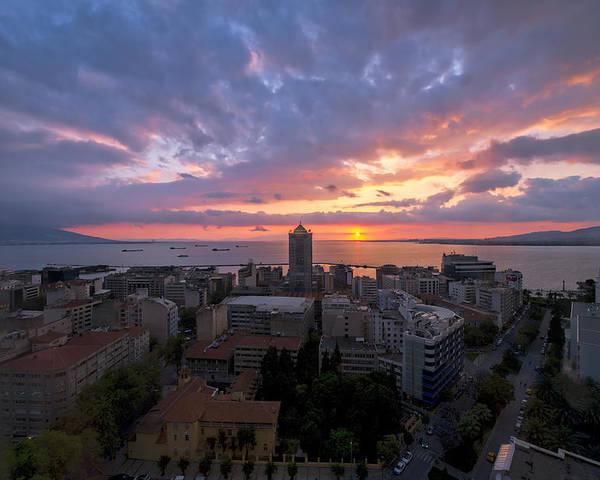 Mark Whitt Poster featuring the photograph Stunning Sunset by Mark Whitt