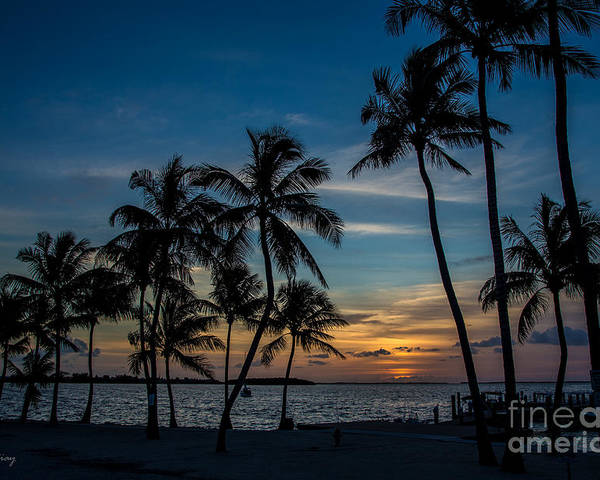 Sunset Poster featuring the photograph Summer Breeze by Rene Triay Photography