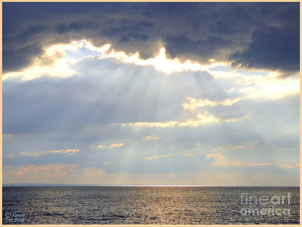 Nature Poster featuring the photograph Suns Rays by Rennae Christman