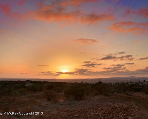Sunset Poster featuring the photograph Sunset @ Rim Trail by Jeremy McKay
