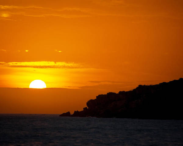 Sunset Poster featuring the photograph Sunset In Northern Colombia by Jess Kraft
