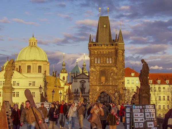 Prague Poster featuring the photograph Sunset In Prague by Raffi Bashlian