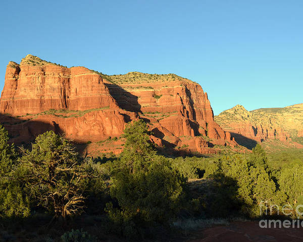 Sedona Photographs Poster featuring the photograph Sunset In Sedona by David Land
