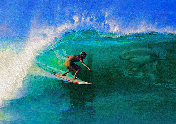 Hawaii Iphone Cases Poster featuring the photograph Surfs Up by James Temple