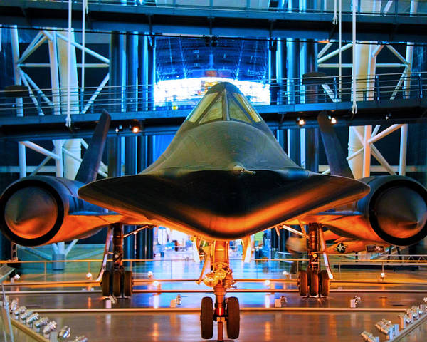 Sr-71 Poster featuring the photograph Surprise by Mitch Cat