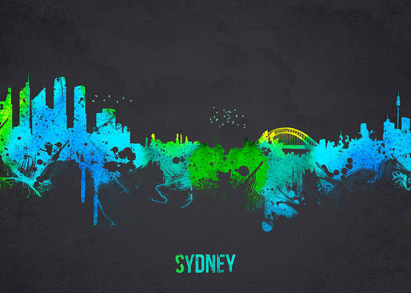 Architecture Poster featuring the digital art Sydney Australia by Aged Pixel
