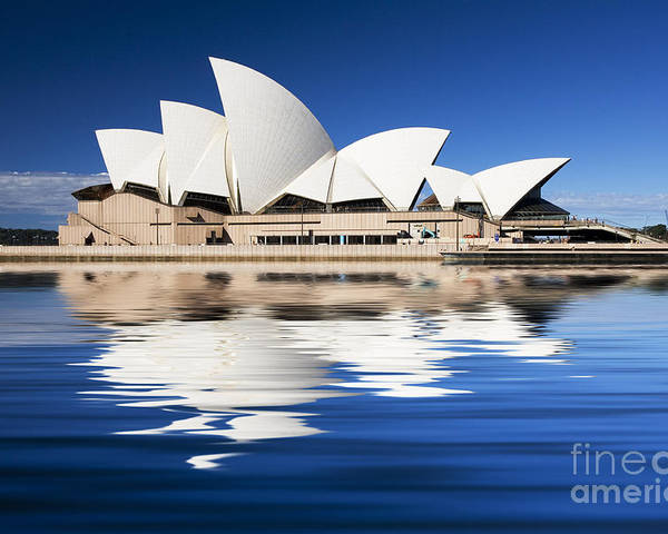 Sydney Opera House Poster featuring the photograph Sydney Icon by Sheila Smart Fine Art Photography