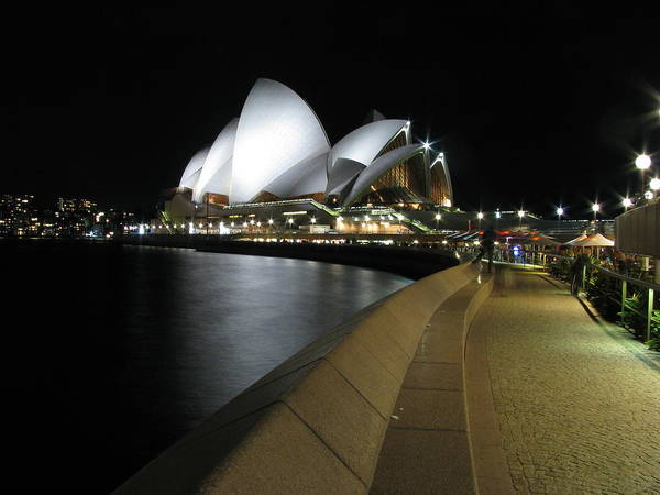 Australia Poster featuring the photograph Sydney Opera House by Florian Strohmaier