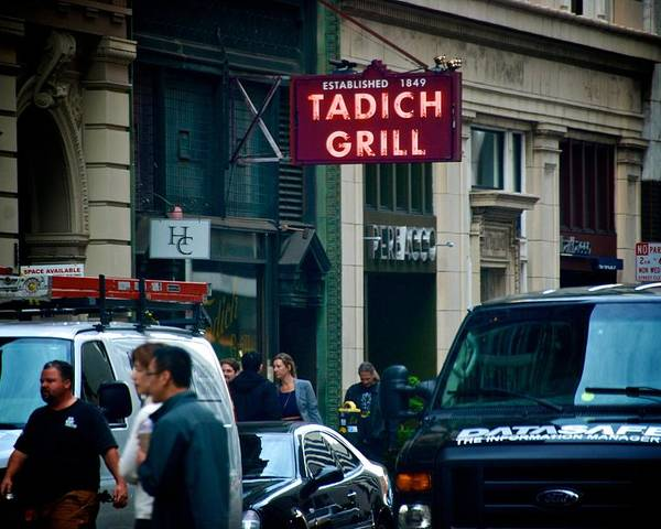 Tadich Grill Poster featuring the photograph Tadich Grill by Eric Tressler