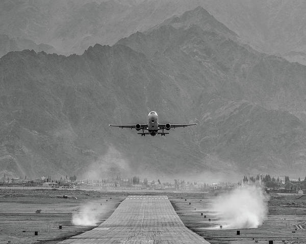 Aviation Poster featuring the photograph Take Off by Krishnaraj Palaniswamy