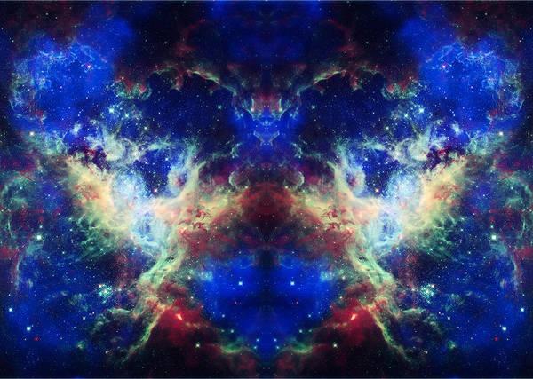 Tarantula Nebula Poster featuring the photograph Tarantula Reflection 1 by Jennifer Rondinelli Reilly - Fine Art Photography