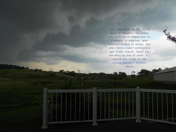 Quotes Poster featuring the photograph Tears by Coleen Harty