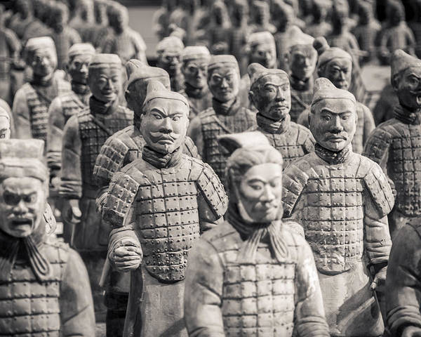 3scape Photos Poster featuring the photograph Terracotta Army by Adam Romanowicz