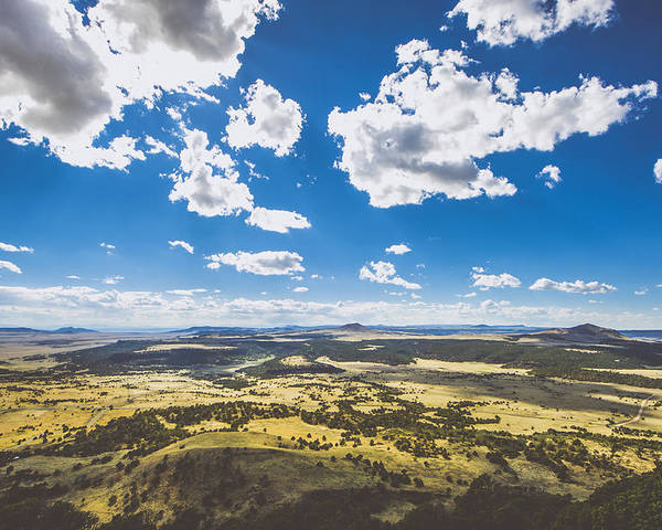 Capulin Volcano National Monument Poster featuring the photograph Texas Beauty by Chelsea Stockton