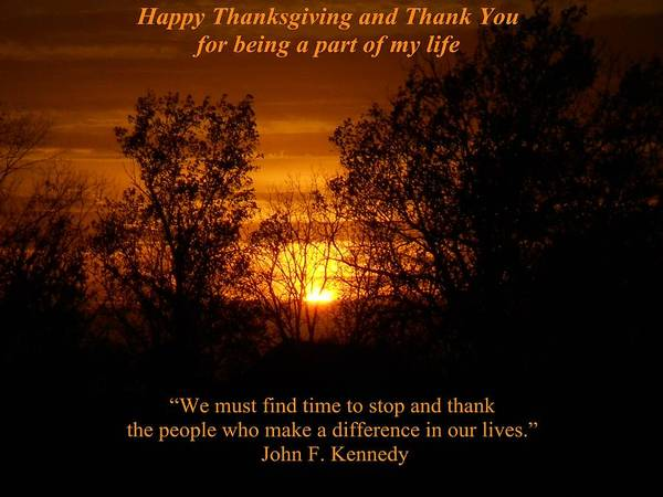 Poster featuring the photograph Thanksgiving by Coleen Harty