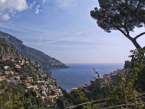 Amalfi Poster featuring the photograph The Amalfi Coast by Betty Eich