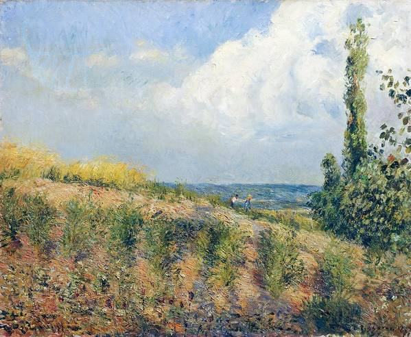 Art Poster featuring the painting The Approaching Storm by Camille Pissarro