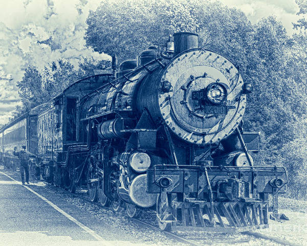 Brakeman Poster featuring the photograph The Brakeman - Vintage by Robert Frederick