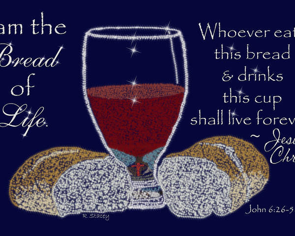Sparklart Poster featuring the photograph The Bread Of Life by Robyn Stacey