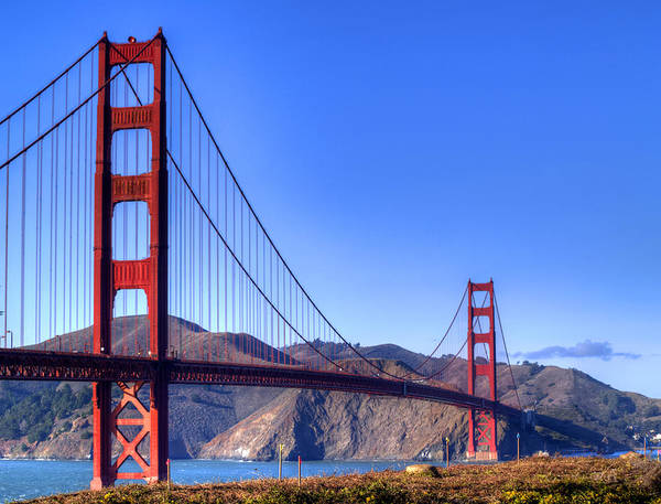 Golden Gate Bridge Poster featuring the photograph The Bridge by Bill Gallagher