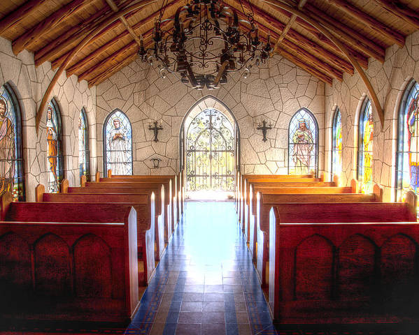 Chapel Poster featuring the photograph The Chapel by Paul Huchton