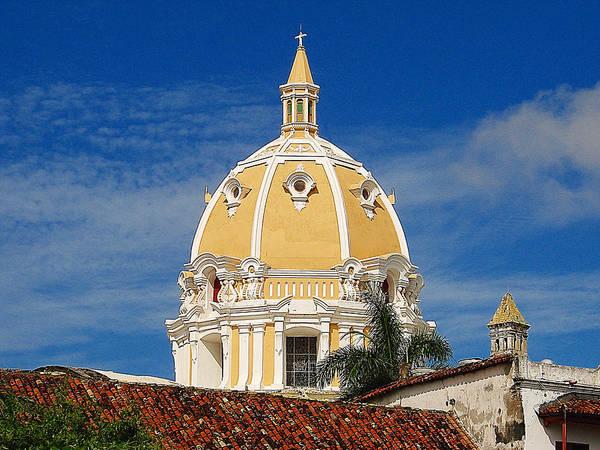 Church Poster featuring the photograph The Church Of San Pedro Claver. by Blair Wainman