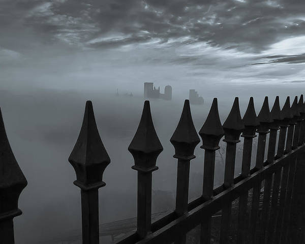 Pittsburgh Poster featuring the photograph The Dark Night by Jennifer Grover