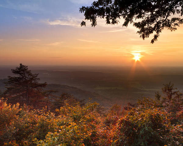 Appalachia Poster featuring the photograph The Evening Star by Debra and Dave Vanderlaan