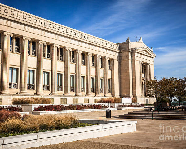 America Poster featuring the photograph The Field Museum In Chicago by Paul Velgos