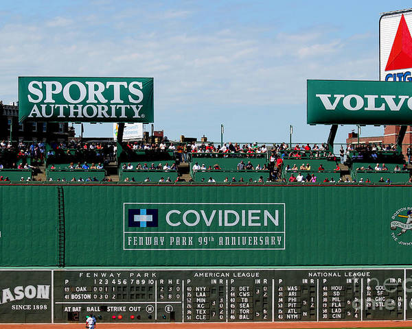 Fine Art America Poster featuring the photograph The Green Monster 99 by Tom Prendergast