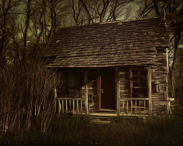 Hermits Poster featuring the photograph The Hermit's Cabin by Julie Dant