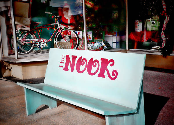 The Nook Pauls Valley Oklahoma Poster featuring the photograph The Nook by Charrie Shockey
