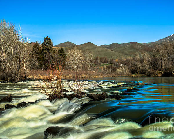 Idaho Poster featuring the photograph The Payette River by Robert Bales