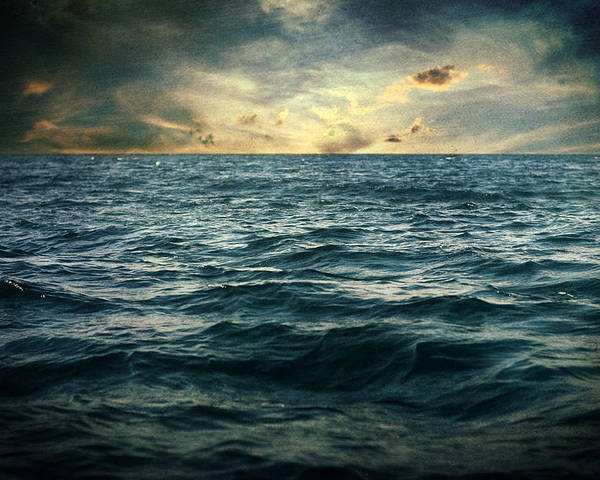 Sea Poster featuring the photograph The Time I Was Daydreaming by Taylan Apukovska