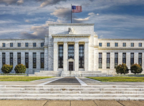 Eccles Building Poster featuring the photograph The Us Federal Reserve Board Building by Susan Candelario