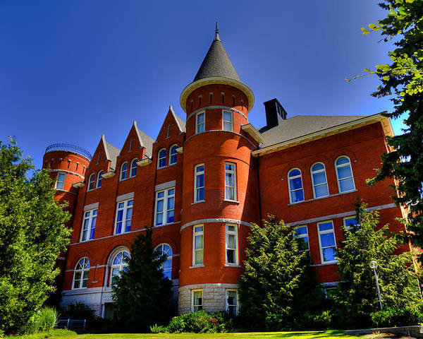 Thompson Hall - The Old Administration Building On The Wsu ...