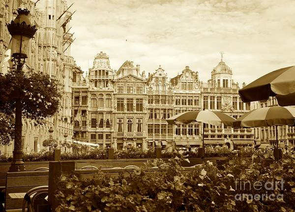 Brussels Poster featuring the photograph Timeless Grand Place by Carol Groenen